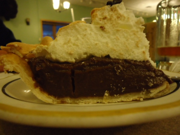 Chocolate-Peanut Butter Pie @ Aro Restaurant in Sundance Wyoming